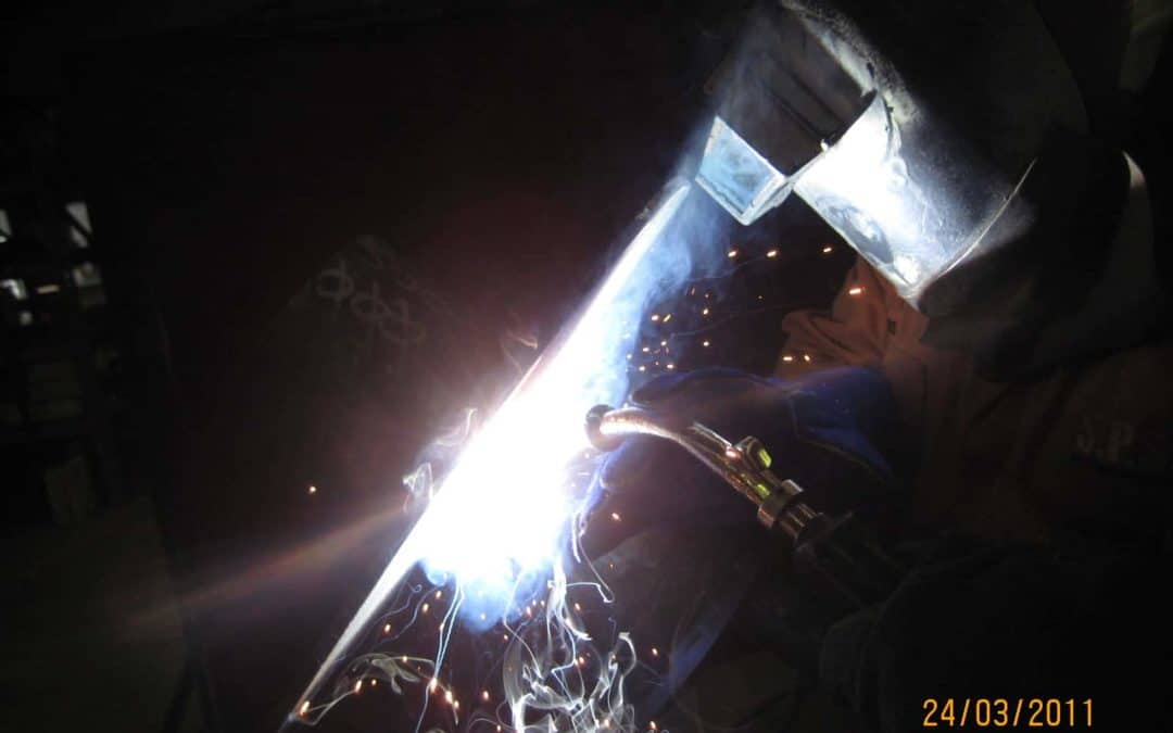 SAFETY WITH WELDING HELMETS