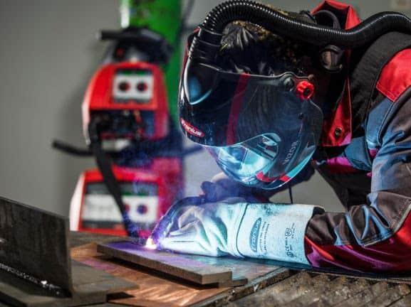 Pulse welding with Fronius TransSteel Pulse
